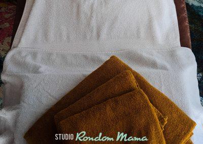Handdoeken massage